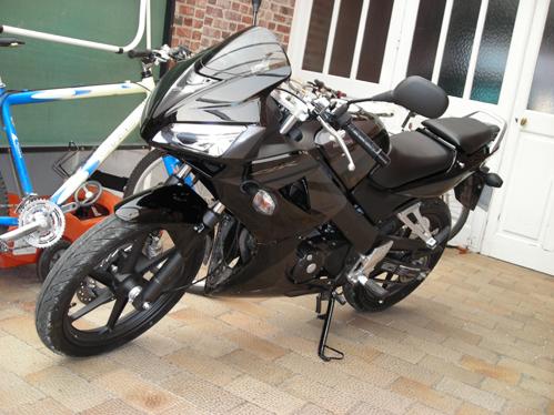 Honda CBR 2007 Akenk