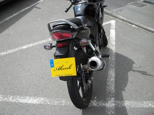 Honda CBR pot debil