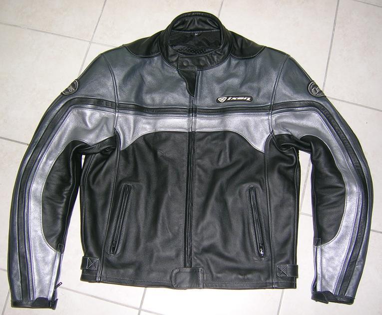 Blouson cuir Ixon moto