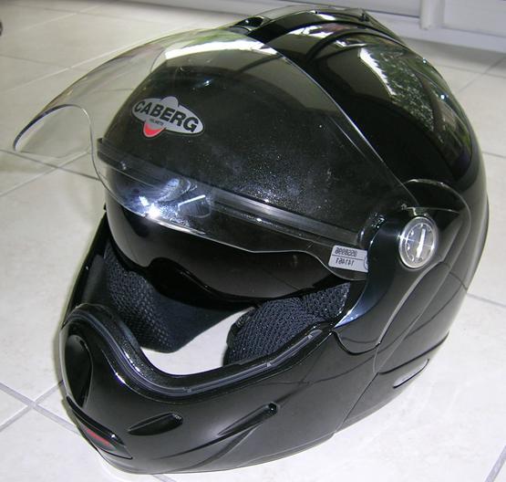 casque moto CABERG modulable rodaster