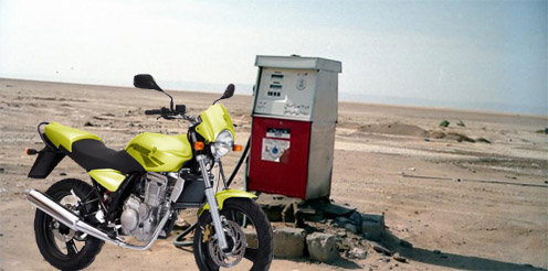 Consommation essence moto 125 MZ RT
