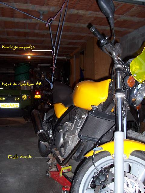 Suspension arriere MZ 125 RT