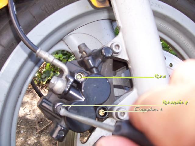 Changer plaquettes de freins